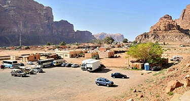 Where to Park in Wadi Rum